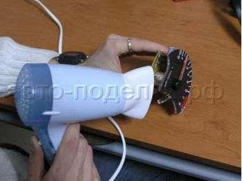 Тюнинг приборной панели своими руками