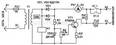 Восстановление и зарядка аккумулятора