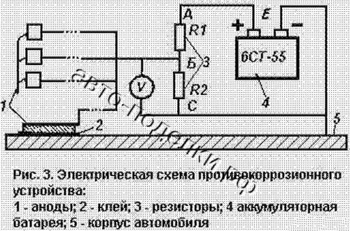 Вывод отR2 (нижний на схеме)