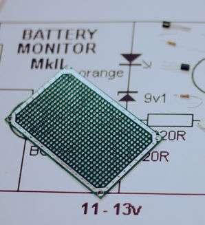 Индикатор заряда аккумулятора.