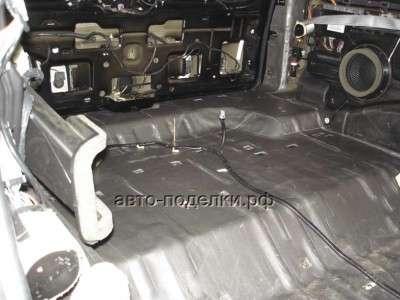 Делаем шумоизоляцию капота и багажника