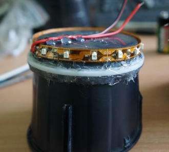 LED-подсветка подстаканников фото