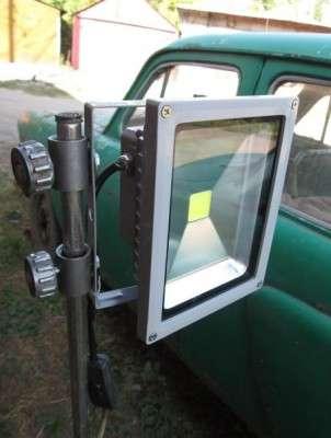 Светильник для гаража своими руками фото