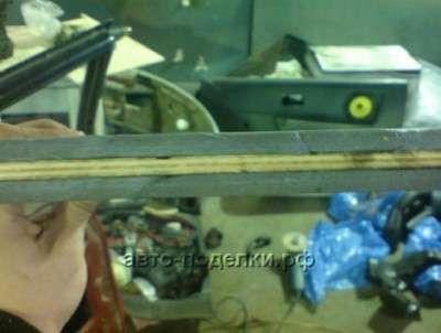 Ставим панель от Opel Vektra в ВАЗ