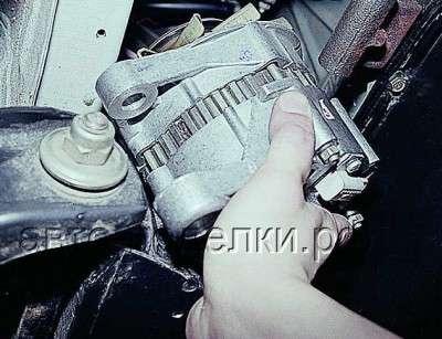 Особенности снятия генератора.