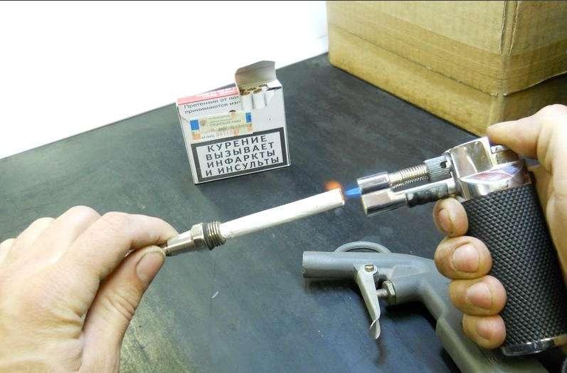 Генератор дыма для автомобиля своими руками 25