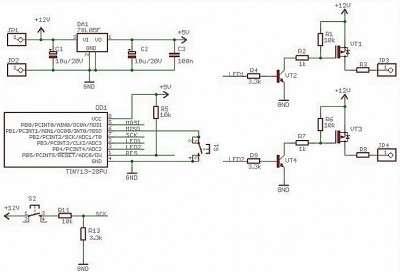Схема стробоскопов на светодиодах