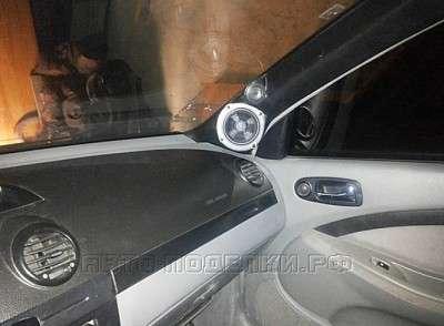 подиум в стойку авто своими руками