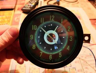 черный мат часы