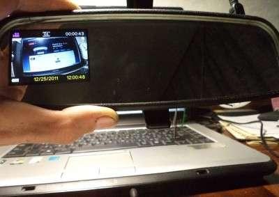 Встраиваем видеорегистратор в салонное зеркало