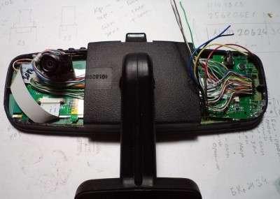 Плюсы видеорегистратора встроенного в зеркало