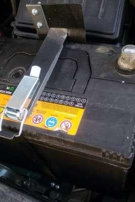 Крепление для быстрого съёма и установки аккумулятора