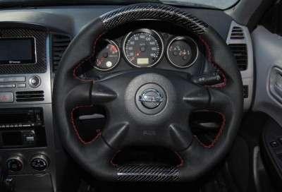 руль на Nissan Wingroad.