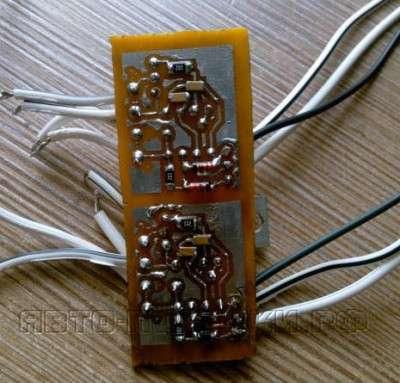 плата Шим регулятора для светодиодов