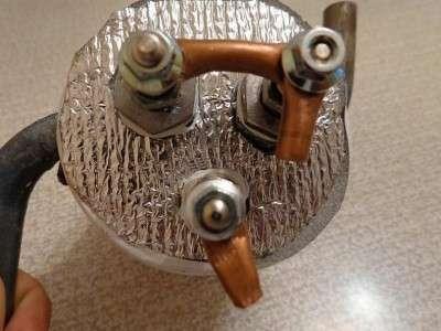 Устройство для прогрева тосола перед запуском двигателя