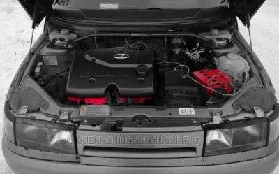раскаленный двигатель