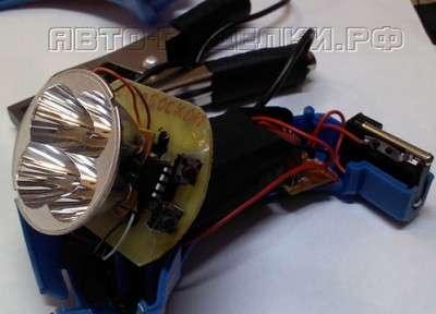 Самодельный стробоскоп в автомобиль