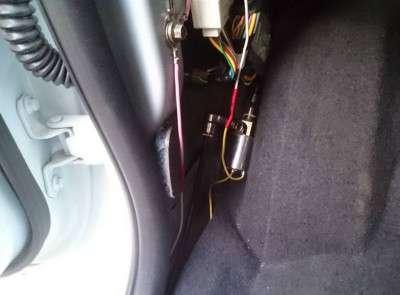 ставим выключатель компрессора
