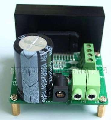 Усилитель на микросхеме TDA7388 в авто