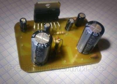 Усилитель на основе микросхемы TDA7294