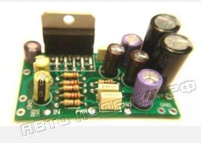 Cтерео усилитель (2 х 10 Вт) на микросхеме TDA2009 фото