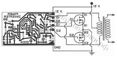 500Вт на МОП - транзисторах
