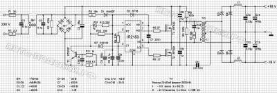Мощное импульсное зарядное устройство схема