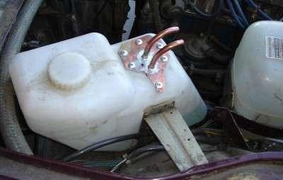 Подогреватель в бачок омывателя своими руками