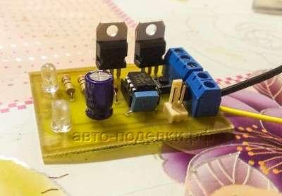 Простой светодиодный стробоскоп на PIC12F675
