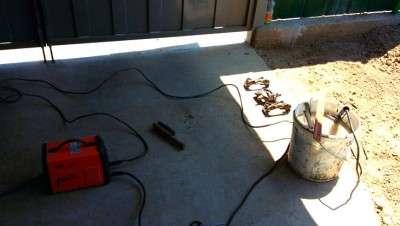 Электолиз - очищаем суппорта от ржавчины