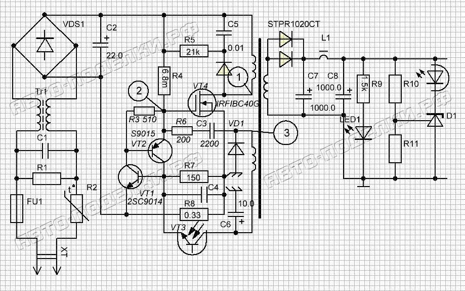 зарядного устройства схема