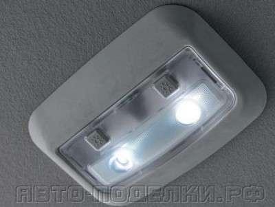 Схема плавного гашения света в салоне авто