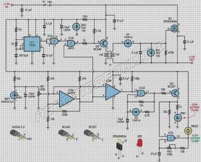 Схема защиты аккумулятора