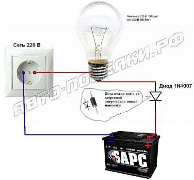 Если нет зарядного, а зарядить надо АКБ, простые способы