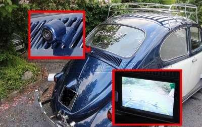 Ставим видеокамеру заднего вида на автомобиль