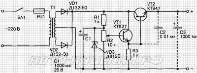 Мощное зарядное устройство до 20А схема