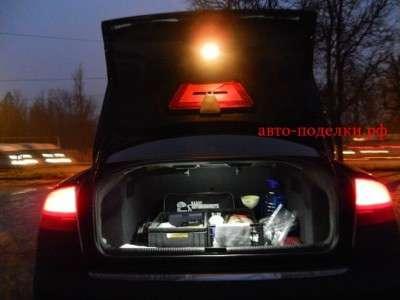 Подсветка в багажник своими руками
