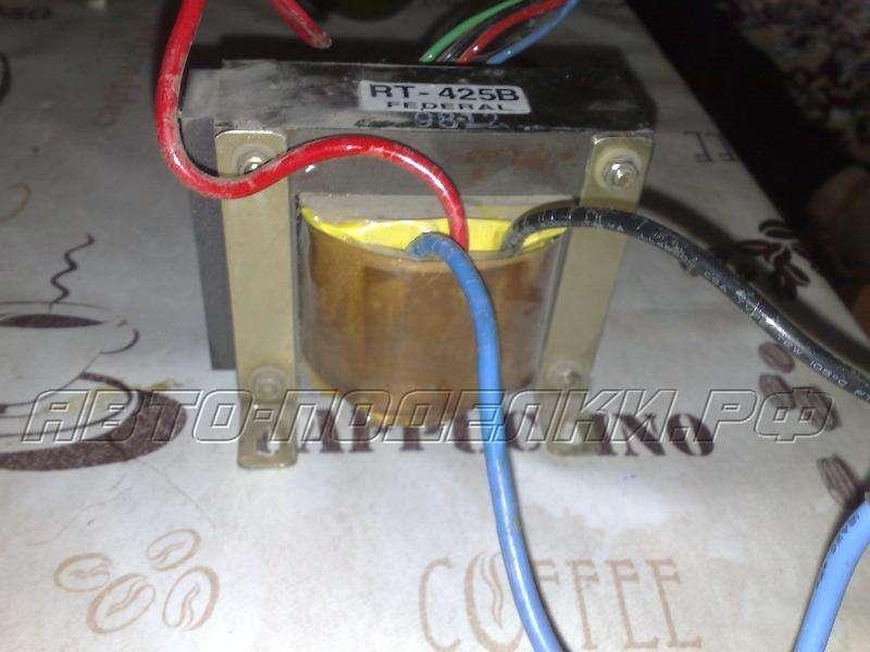 Как из трансформатора сделать зарядное устройство для  880
