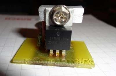 Простая схема плавного розжига светодиодов
