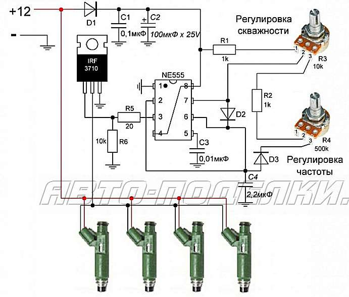 Схема стенд для проверки генератора своими руками