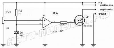 Регулятор ДХО без использования сложных микросхем