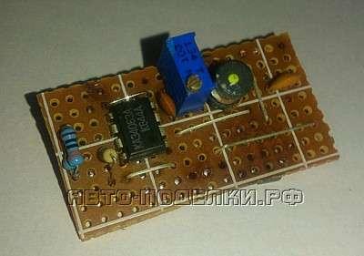 Преобразователь 12-5 Вольт для зарядки телефонов от прикуривателя