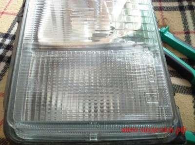 стекло от фары белое