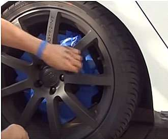 Жидкая резина как покрыть авто