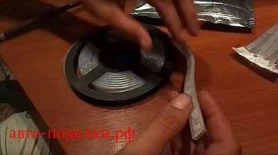 Подсветка дисков своими руками