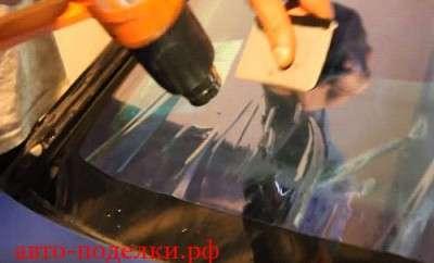 Тонируем лобовое стекло