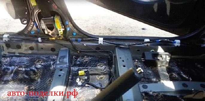 Фокус 2 двигателя шумоизоляция на форд