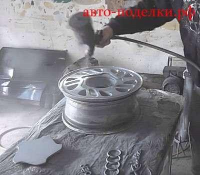 Термохром для автомобильных колес