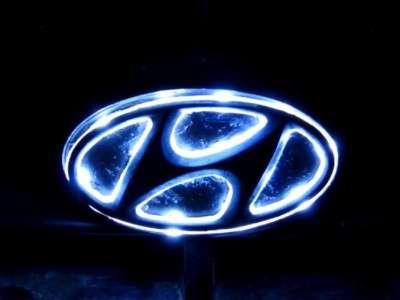 Светящийся логотип авто своими руками