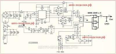 Схема Power Supply IR2153